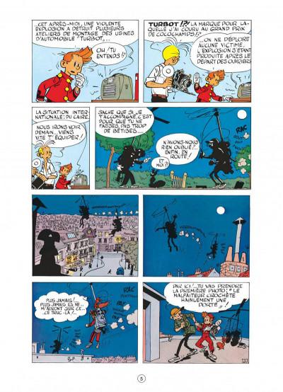 Page 5 spirou et fantasio tome 6 - la corne de rhinocéros