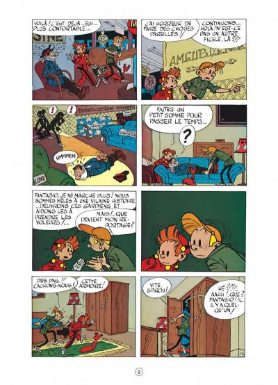 Page 9 spirou et fantasio tome 6 - la corne de rhinocéros