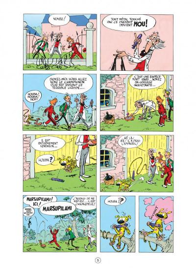 Page 5 spirou et fantasio tome 7 - le dictateur et le champignon