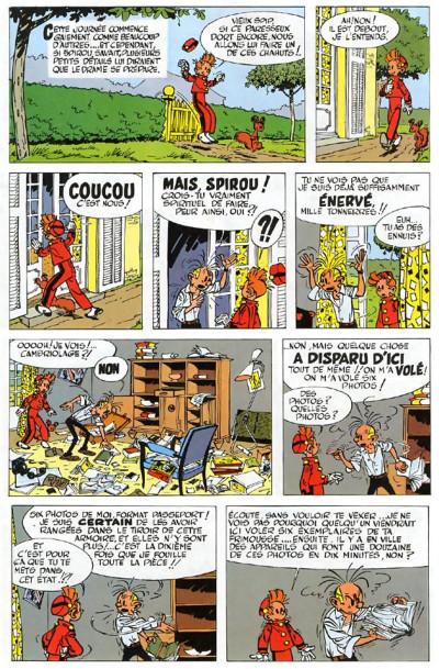 Page 5 spirou et fantasio tome 8 - la mauvaise tête