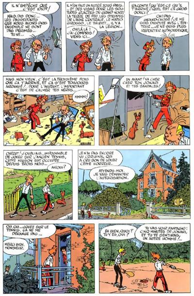 Page 6 spirou et fantasio tome 8 - la mauvaise tête