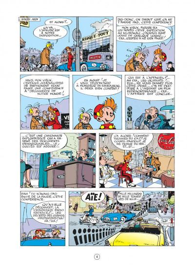 Page 4 spirou et fantasio tome 12 - le nid des marsupilamis