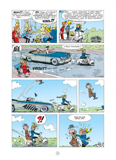 Page 8 spirou et fantasio tome 12 - le nid des marsupilamis