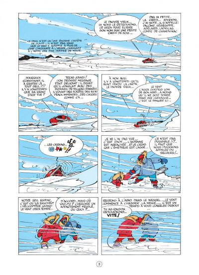 Page 3 spirou et fantasio tome 13 - le voyageur du mesozoique