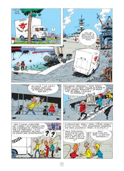 Page 7 spirou et fantasio tome 13 - le voyageur du mesozoique