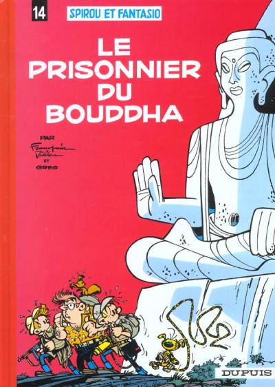 Couverture spirou et fantasio tome 14 - le prisonnier du bouddha
