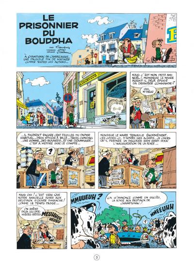 Page 3 spirou et fantasio tome 14 - le prisonnier du bouddha