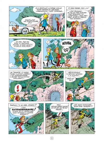 Page 5 spirou et fantasio tome 14 - le prisonnier du bouddha