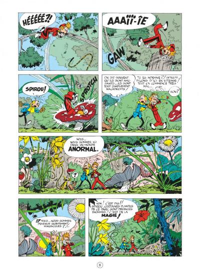 Page 6 spirou et fantasio tome 14 - le prisonnier du bouddha