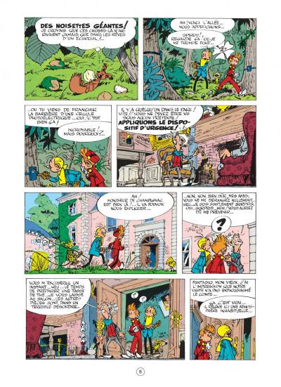 Page 8 spirou et fantasio tome 14 - le prisonnier du bouddha