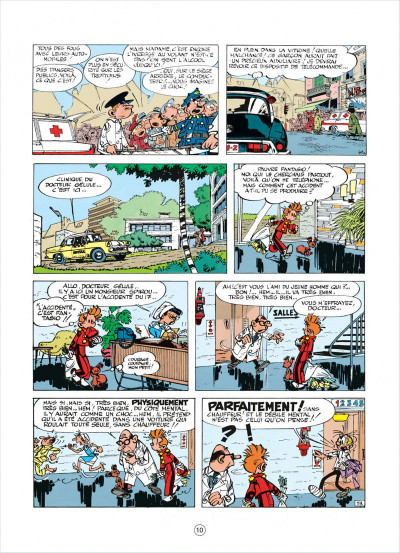 Page 0 spirou et fantasio tome 15 - z comme zorglub (cartonné)