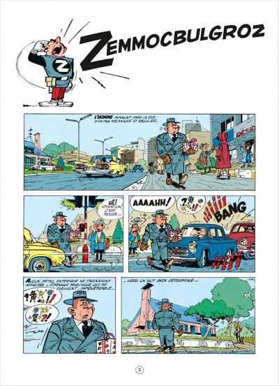 Page 3 spirou et fantasio tome 15 - z comme zorglub (cartonné)
