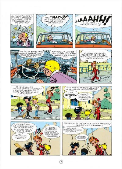 Page 7 spirou et fantasio tome 15 - z comme zorglub (cartonné)
