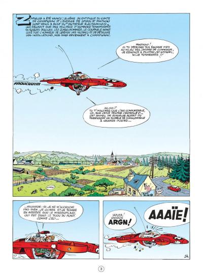 Page 3 spirou et fantasio tome 16 - l'ombre du z