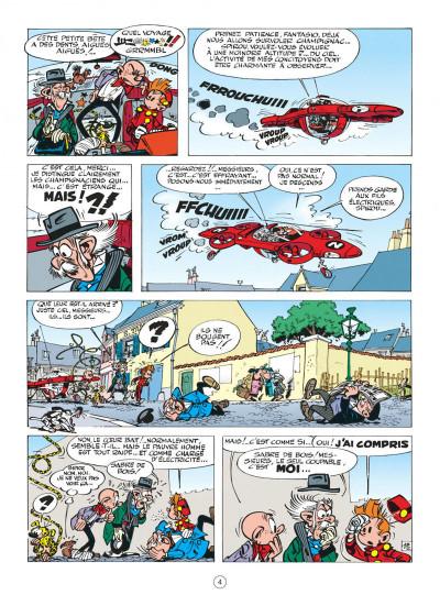 Page 4 spirou et fantasio tome 16 - l'ombre du z