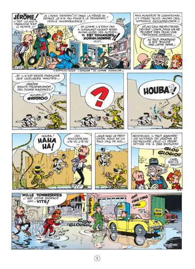 Page 5 spirou et fantasio tome 16 - l'ombre du z