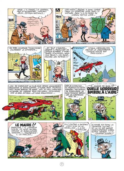 Page 7 spirou et fantasio tome 16 - l'ombre du z