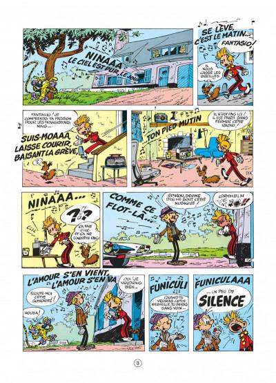 Page 3 spirou et fantasio tome 18 - qrn sur bretzelburg