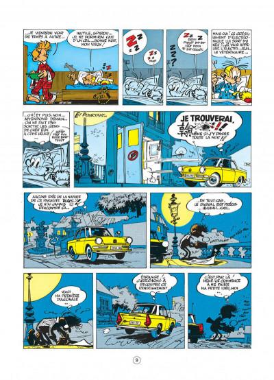 Page 9 spirou et fantasio tome 18 - qrn sur bretzelburg