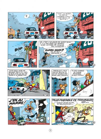 Page 3 spirou et fantasio tome 19 - panade à champignac