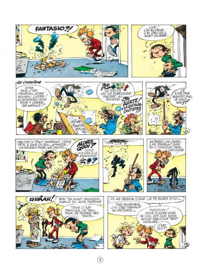 Page 5 spirou et fantasio tome 19 - panade à champignac