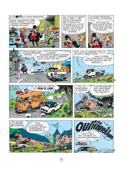 Page 8 spirou et fantasio tome 19 - panade à champignac