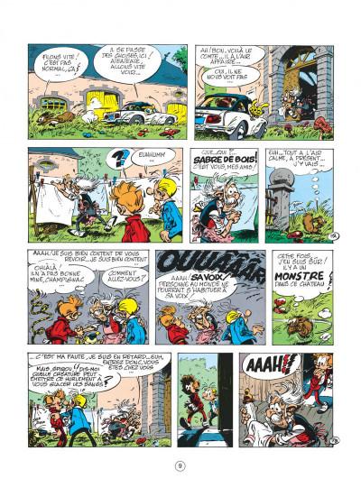 Page 9 spirou et fantasio tome 19 - panade à champignac