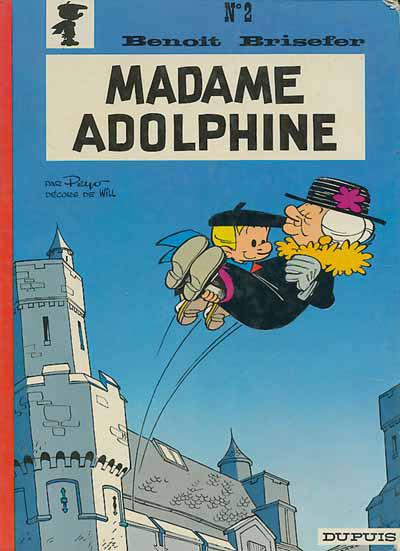 Couverture Benoît Brisefer tome 2 - madame Adolphine