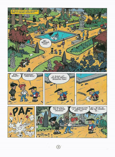 Page 3 Benoît Brisefer tome 5 - le cirque bodoni