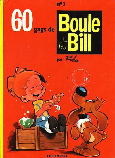 Couverture Boule et Bill tome 3 - 60 gags