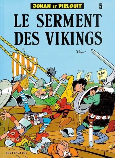 image de johan et pirlouit tome 5 - le serment des vikings