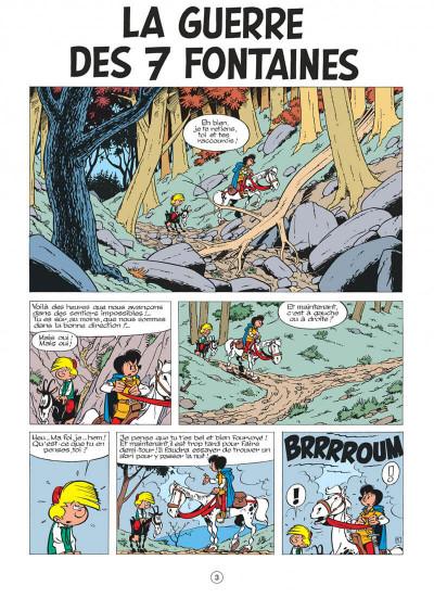 Page 3 johan et pirlouit tome 10 - la guerre des 7 fontaines