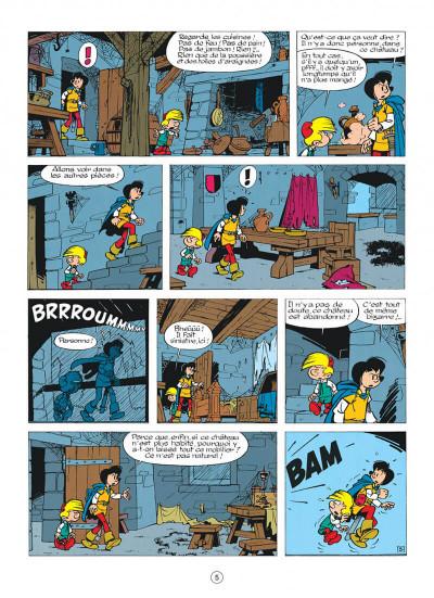 Page 5 johan et pirlouit tome 10 - la guerre des 7 fontaines