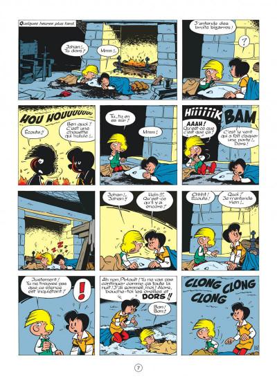 Page 7 johan et pirlouit tome 10 - la guerre des 7 fontaines