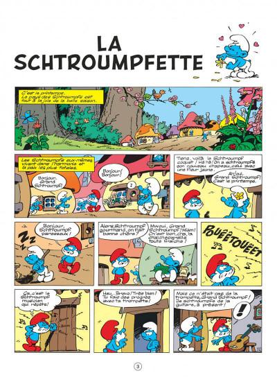 Page 3 les schtroumpfs tome 3 - la schtroumpfette