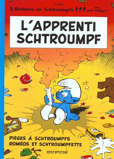 Couverture les schtroumpfs tome 7 - l'apprenti schtroumpf