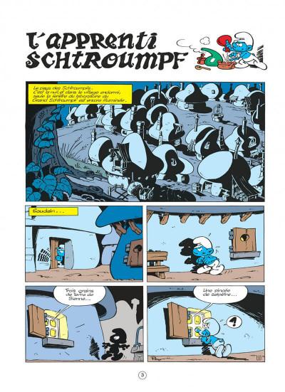 Page 3 les schtroumpfs tome 7 - l'apprenti schtroumpf