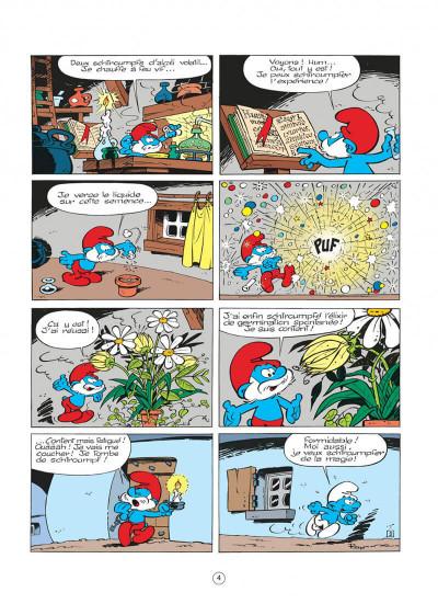 Page 4 les schtroumpfs tome 7 - l'apprenti schtroumpf