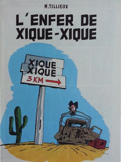 Page 2 Gil Jourdan tome 5 - L'enfer de Xique-Xique (éd. 1973)