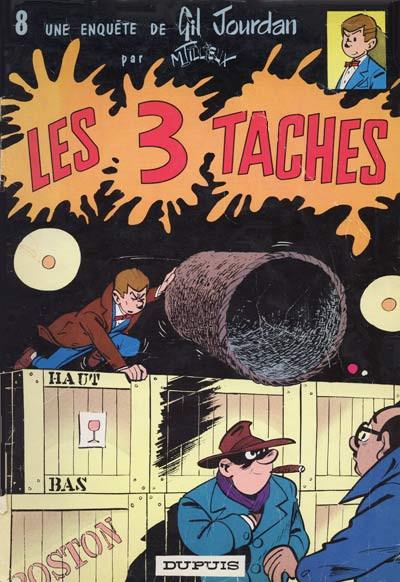 Couverture Gil Jourdan tome 8 - Les 3 taches (éd. 1965)