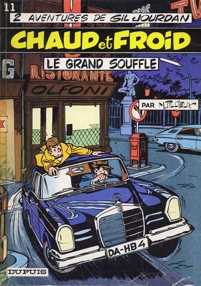 Couverture Gil Jourdan tome 11 - Chaud et froid (éd. 1969)