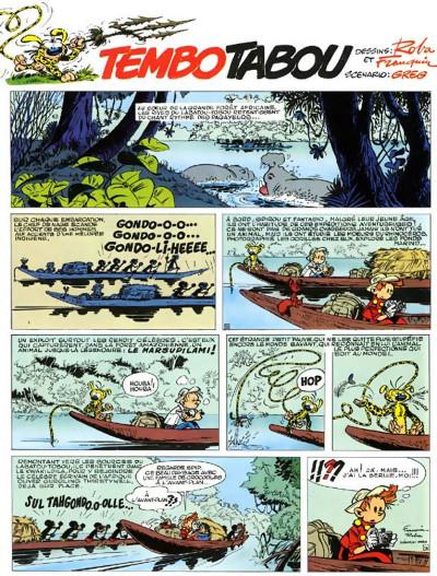 Page 3 spirou et fantasio tome 24 - tembo tabou