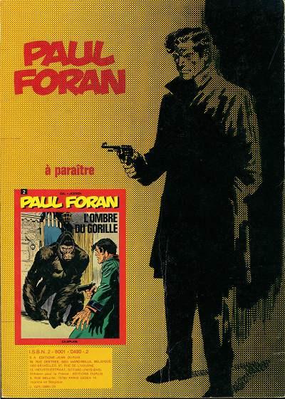 Dos Paul Foran tome 1