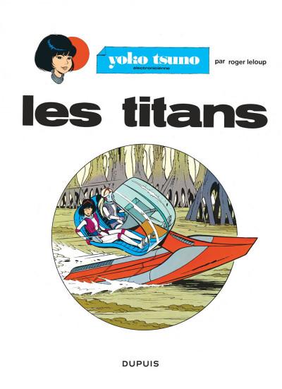Page 1 yoko tsuno tome 8 - les titans