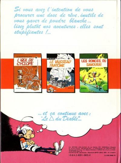 Dos Les petits hommes tome 8 - du reve en poudre