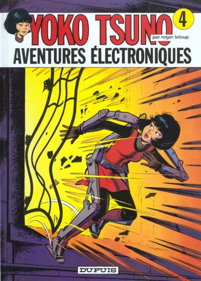 Couverture yoko tsuno tome 4 - aventures electroniques