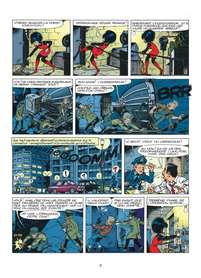 Page 9 yoko tsuno tome 4 - aventures electroniques
