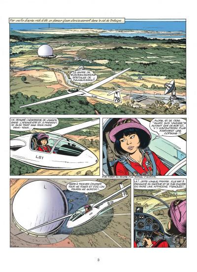 Page 3 yoko tsuno tome 5 - message pour l'éternité