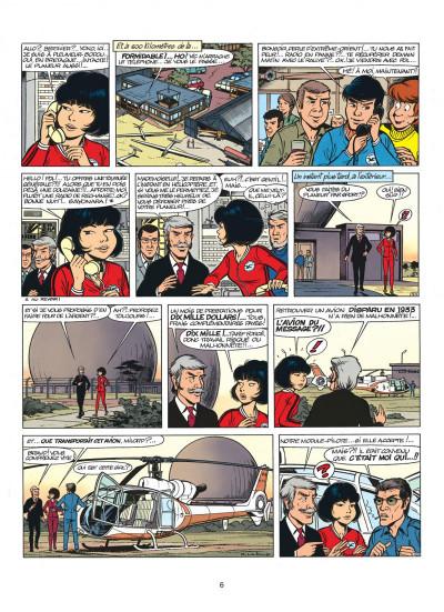 Page 6 yoko tsuno tome 5 - message pour l'éternité