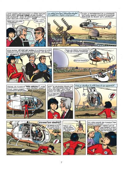 Page 7 yoko tsuno tome 5 - message pour l'éternité